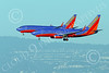Boeing 737 00014 Two Boeing 737s Southwest Airline land simultaneously on SFO's parallel runways 12-2014 airliner picture by Peter J Mancus