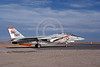 F-14USN-VF-114 0017 A taxing Grumman F-14 Tomcat USN VF-114 AARDVARKS USS Kitty Hawk NAS Fallon 11-1978 military airplane picture by Michael Grove, Sr