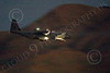 WWAN 00088 A Lockheed C-130 Hercules Royal Austrailian Air Force cargo aircraft on final approach to land at Nellis AFB after a night Red Flag mission military airplane picture by Peter J Mancus