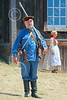 HR-FtRossRUSS 00151 A male civilian milita Russian settlor historical re-enactor at Ft Ross California, historical re-enactor picture by Peter J Mancus