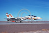 F-14USN-VF-1 0023 A taxing USN Grumman F-14 Tomcat jet fighter 158989 VF-1 WOLFPACK USS Enterprise NAS Fallon 3-1976 military airplane picture by Michael Grove, Sr