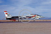 F-14USN-VF-114 0015 A taxing Grumman F-14 Tomcat USN VF-114 AARDVARKS USS Kitty Hawk NAS Fallon 4-1977 military airplane picture by Michael Grove, Sr