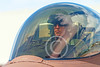 ACM 00321 A male USN TOP GUN F-16 Viper fighter pilot in the cockpit at NAS Fallon 2014, by Peter J Mancus