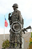 STY-VIETNWM 00017 Side profile of a Vietnam War Memorial statue picture by Peter J Mancus