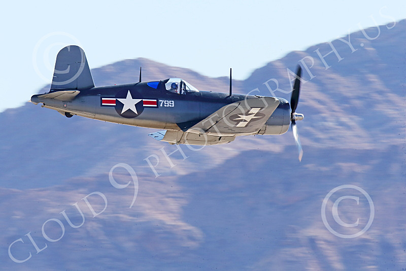WB-Chance Vought F4U Corsair 00048 A low flying Chance Vought F4U Corsair US WWII era fighter, warbird picture by Peter J Mancus