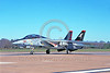 F-14USN-VF-101 0051 A taxing Grumman F-14 Tomcat USN VF-101 GRIM REAPERS NAS Oceana 11-2003 military airplane picture by J E Michaels