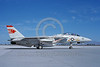 F-14USN-VF-1 0029 A taxing USN Grumman F-14 Tomcat jet fighter 162592 VF-1 WOLFPACK USS Ranger NAS Fallon 9-1998 military airplane picture by Michael Grove, Sr