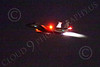 WWAN 00007 A McDonnell Douglas F-15C Eagle USAF jet fighter takes off in afterburner at Nellis AFB for a night Red Flag mission military airplane picture by Peter J Mancus