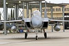 F-15ANG 00067 A McDonnell Douglas F-15 Eagle jet fighter California ANG 144 FW taxis out for a training mission at Frenso ANG base 3-2015 military airplane picture by Peter J Mancus