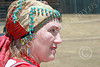 HR-FtRossRUSS 00154 A female civilian Russian settlor historical re-enactor at Ft Ross California, historical re-enactor picture by Peter J Mancus