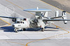 E-2USN 00269 A Grumman E-2C Hawkeye US Navy 165817 VAW-113 BLACK EAGLES USS Ronald Reagan taxis at NAS Fallon 1-2015 military airplane picture by Peter J Mancus