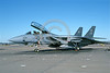F-14USN-VF-103 0051 A static Grumman F-14 Tomcat USN 163229 VF-103 JOLLY ROGERS USS Dwight D Eisenhower NAS Oceana 11-2003 military airplane picture by J E Michaels