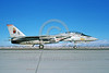 F-14USN-VF-11 0013 A taxing USN Grumman F-14 Tomcat jet figher 161672 VF-11 RED RIPPERS commanding officer's airplane NAS Fallon 11-1985 military airplane picture by Michael Grove, Sr