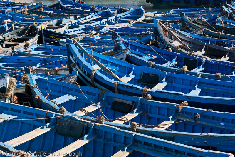 Fishing boats at Essaouira