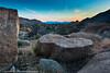 Texas Canyon near Benson, Arizona