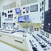 The control room of a power generation plant