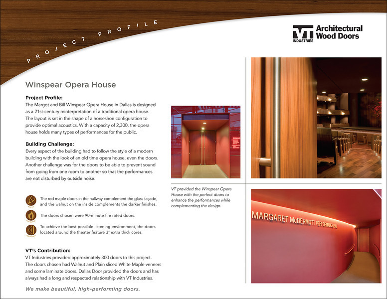 Client:  Noble Communications, Springfield MO & VT Doors.