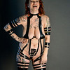 Katie Set 3 implied nude electrical tape fetish