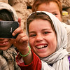 IDP Kids Learning to Take Selfies in Herat, Afghanistan