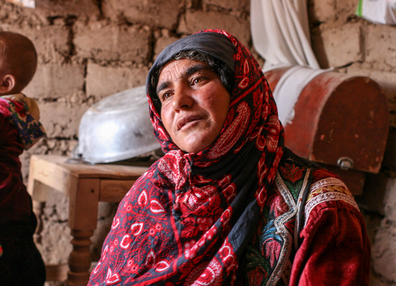 Mother in IDP Camp in Herat, Afghanistan