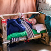 IDP Baby Able to Sleep Soundly Under Improved Roof, Herat Afghanistan
