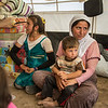 Markas, her houseband and their children fled Sinjar and are now living in Kandala camp, Northern Iraq. Photo: Tiril Skarstein, NRC