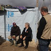 """Jan Egeland speaking with Anwar (29) a Syrian refugee from Idlib. <br /> <br /> """"I want my children to have a better future. For us it's over,"""" Anwar said.<br /> <br /> Egeland visited Syrian refugees in the Bekaa Valley in Lebanon on February 25, 2015.  <br /> <br /> Photo: NRC/Rayane Abou Jaoude"""