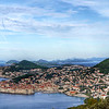 Dubrovnik from Mountain Overlook