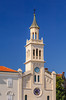 The church of St. Francis in the main square of Split, Dalmatia, Croatia.