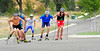 Erik Bjornsen Leads Pack at APU Roller Ski Trials