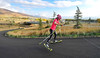 Jessie Diggins Roller Ski Training at Soldier Hollow