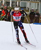 Sophie Caldwell<br /> 2014 FIS World Cup Cross Country sprints in Davos<br /> Photo © Levi Hensel