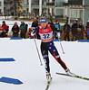 Sadie Bjornsen<br /> 2014 FIS World Cup Cross Country sprints in Davos<br /> Photo © Levi Hensel