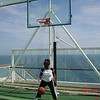 Practice before the slam dunk
