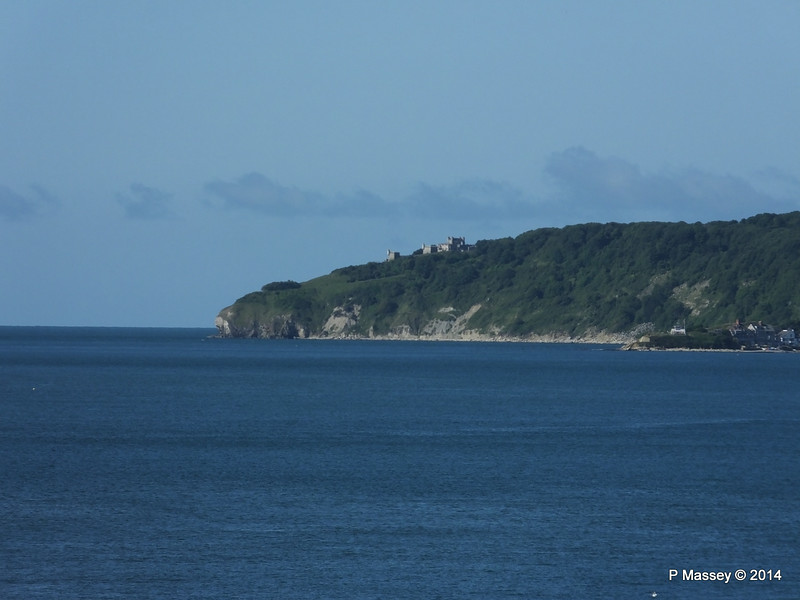Durlston Castle from BARFLEUR PDM 14-07-2014 09-02-13