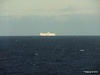 Distant passing EL DJAZAIR II Spanish Coast N Barcelona PDM 06-04-2014 05-51-28