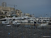Grand Prix stand preparations obscure Port Hercule Monaco 07-04-2014 13-43-52