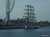 Mexican Navy Training Ship CUAUHTEMOC Portsmouth Partial Blue Spinnaker Tower PDM 29-06-2015 08-02-29