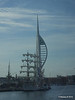 Mexican Navy Training Ship CUAUHTEMOC Portsmouth Partial Blue Spinnaker Tower PDM 29-06-2015 08-03-32