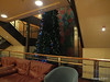 Stairwell Deck 9 - 8 Reception Christmas Tree hides mural 16-11-2012 23-31-39
