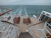 Over QM2's Stern from Deck 12 PDM 11-11-2013 15-29-30