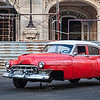 Broken Down Car at Opera House in Havana
