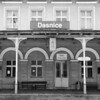 The station of Dasnice is remint of Austro-Hungarian Empire in the Karlovy Vary Region of the Czech Republic.