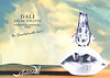SALVADOR DALI Dali Eau de Toilette 2012 France folding spread  'Be scented with art!'
