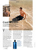 DAVIDOFF Cool Water 2011 Germany (advertorial Cosmopolitan)