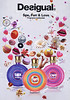DESIGUAL Sex, Fun & Love Fragrance Collection 2014 Spain (format 17 x 24 cm)