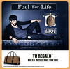 DIESEL Fuel for Life Homme 2010 Spain (format 18 x 18 cm) 'Use with caution - The fragrance by Diesel - Tu regalo bolsa Diesel Fuel for Life '