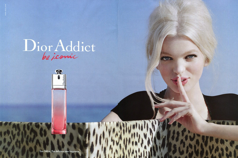 DIOR Addict 2013 United Arab Emirates spread  'Be iconic - Eau Délice  The delicious new fragrance'