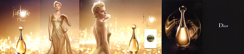 J'Adore DIOR 2014 Italy (6 pages with holographic scent card)