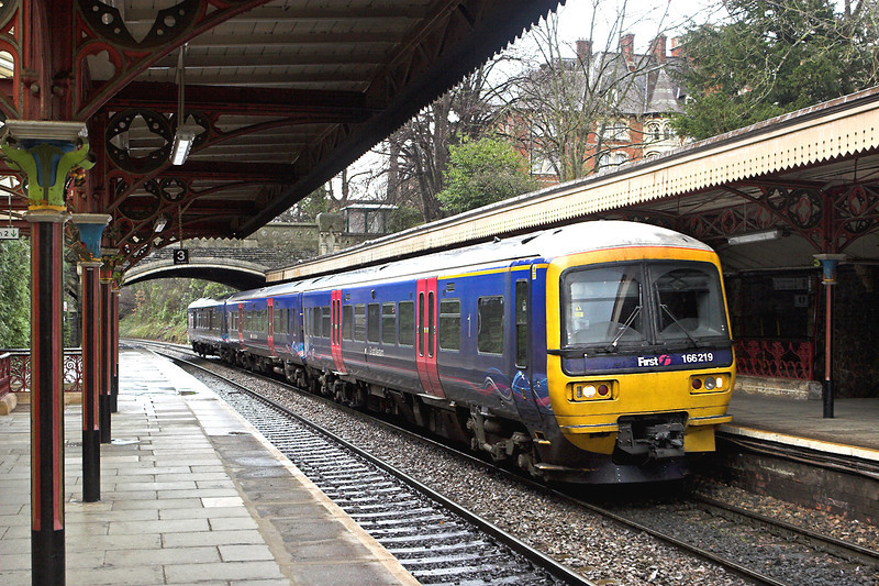 166219 Great Malvern 3/1/2012 1W29 1120 London Paddington-Great Malvern